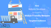 Hire Website Developer for Creating Mobile Friendly Website for Target